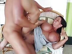 German milf fucks 18yr old not Step-Son
