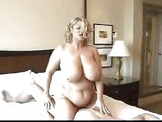 Huge Breasted Blonde MILF BBW