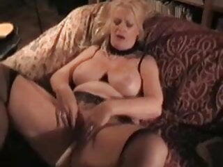 Trashy german mature MILF with big tits